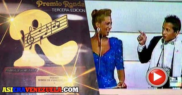 LOS PREMIOS RONDA | Radio Caracas Televisión premiando artistas