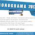 Prévia do Cronograma 2017