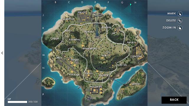 Pulau Sentosa, Map Baru di Game Free Fire - Battlegrounds