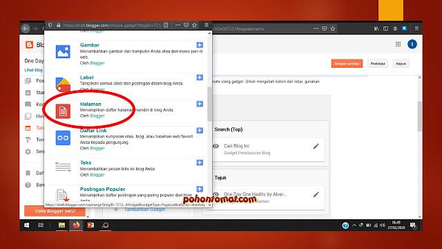Cara Membuat Daftar Isi Otomatis di Blog Berdasarkan Label