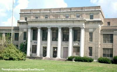 Former William Penn High School in Harrisburg Pennsylvania