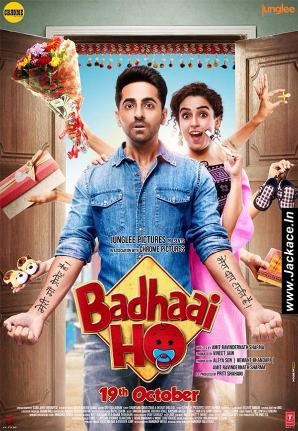 Badhaai Ho 2018 Hindi PREDVDRip 1.5GB AAC MKV