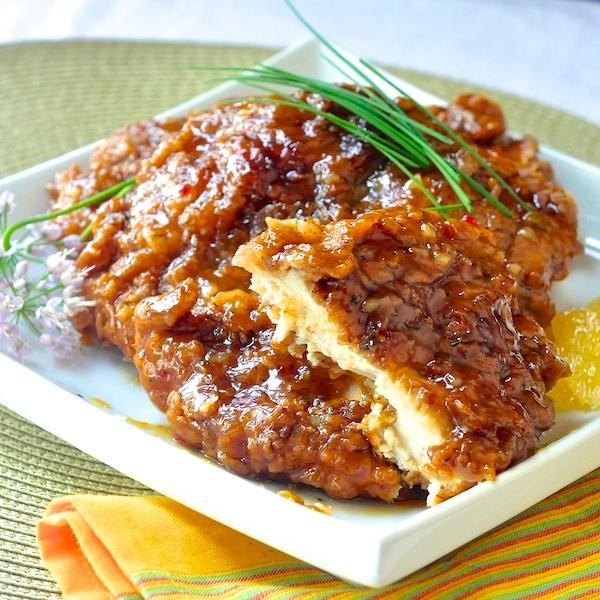 Double Crunch Orange Chicken