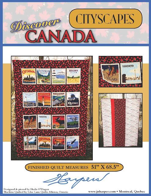 Sew Sisters Quilt Shop: Discover Canada - Cityscapes - Quilt Kit : sew sisters quilt shop toronto - Adamdwight.com