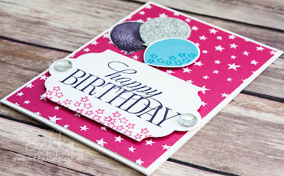 Birthday Balloon Celebration Card