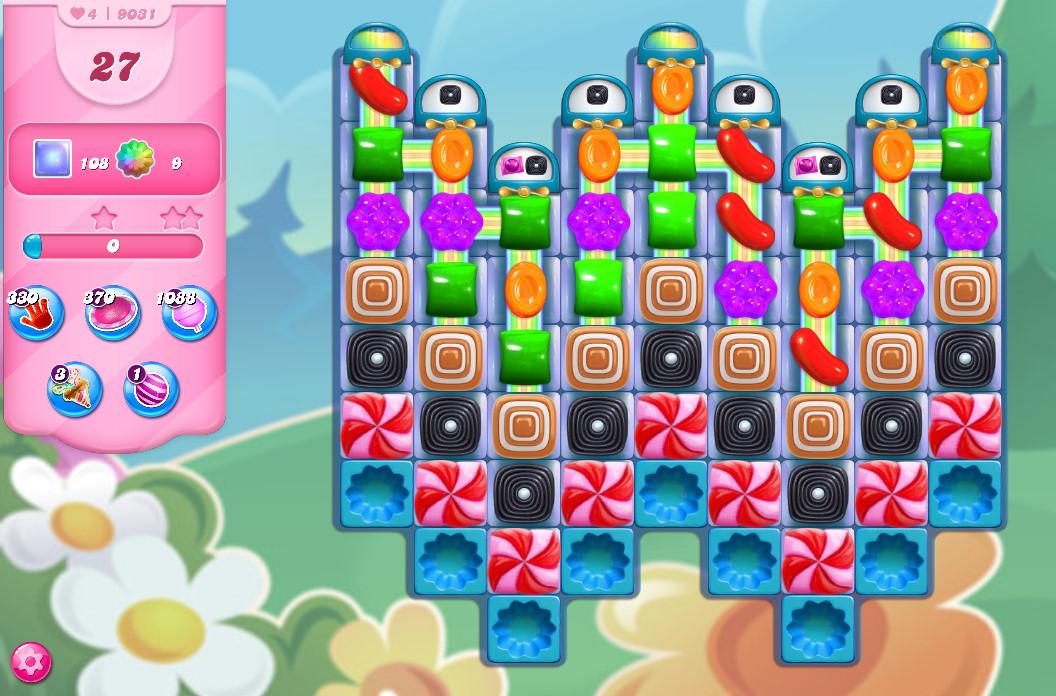 Candy Crush Saga level 9031