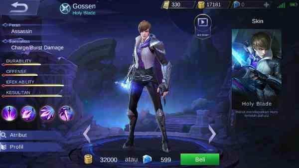 Kelebihan dan Kekurangan Hero Gossen Mobile Legend, Yakin Mau Beli