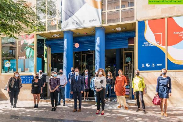 Sodepal inaugura el primer espacio físico para comercializar los productos del sector creativo y textil de la Isla
