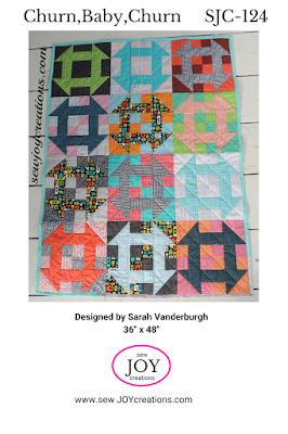 Churn Baby Churn quilt pattern Sew Joy Creations