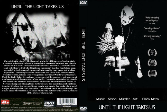 Until the Light Takes Us true Norwegian Black Metal history. PunkMetalRap.com