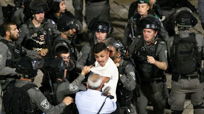 Az izraeli rendőrség palesztin tüntetőkkel csapott össze Jeruzsálemben
