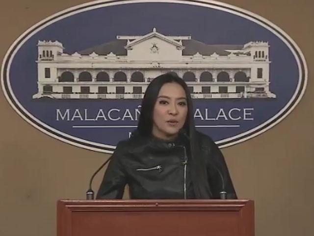 Ambassadress Mocha Uson Holds Press Conference About MMFF At Malacañang Palace