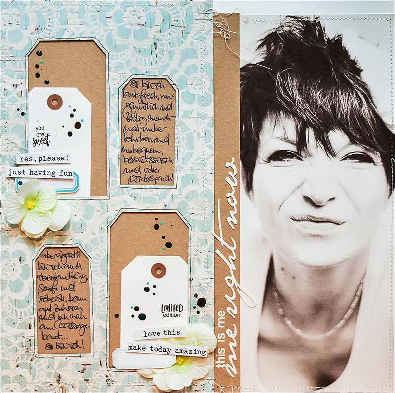 Stephanie Berger - scrapbooking - layout - this is me - Crop im Pott