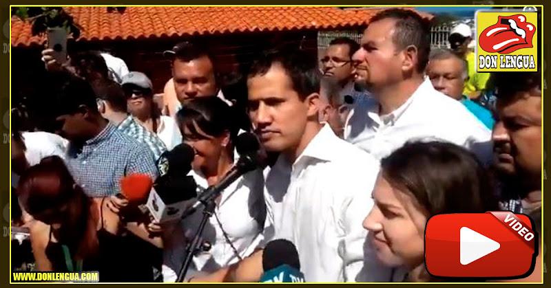 Guaidó hace un llamado a los militares tras su secuestro por parte del SEBIN
