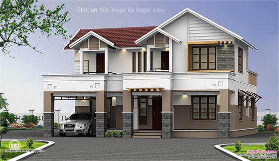 2 storey house elevation