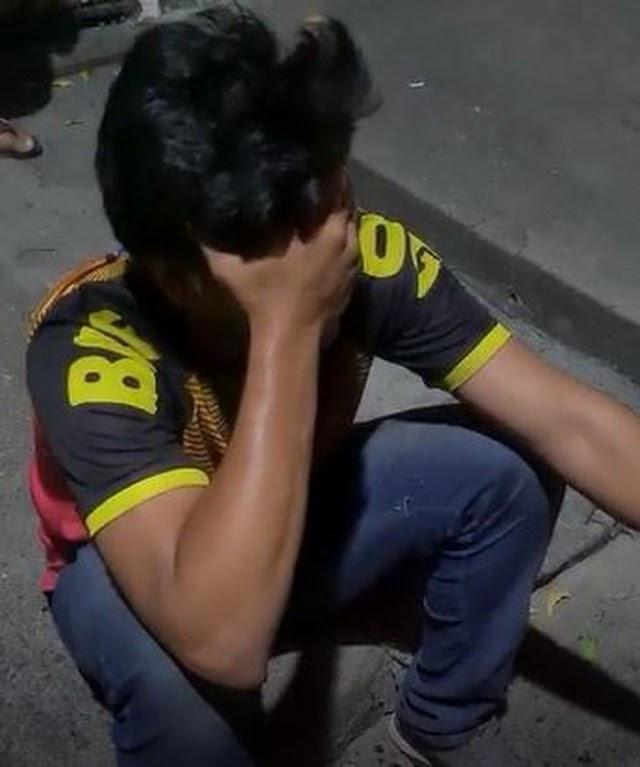 Entregador sofre tentativa de assalto e é salvo por colegas