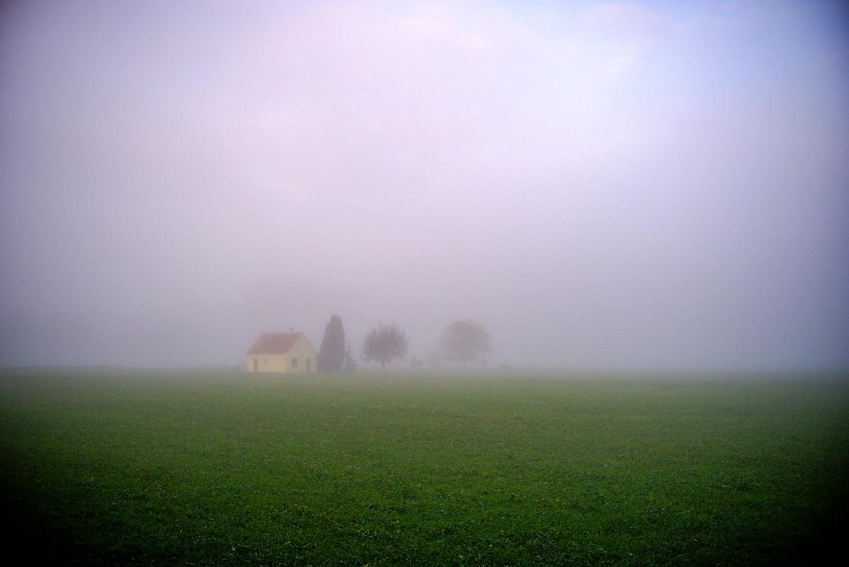 #291 NEEWER HD.MC f1.8 25mm – Haus im Nebel