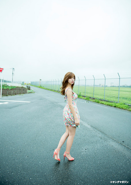 Ikeda Elaiza 池田エライザ Young Magazine No 41 2015 Pics 08