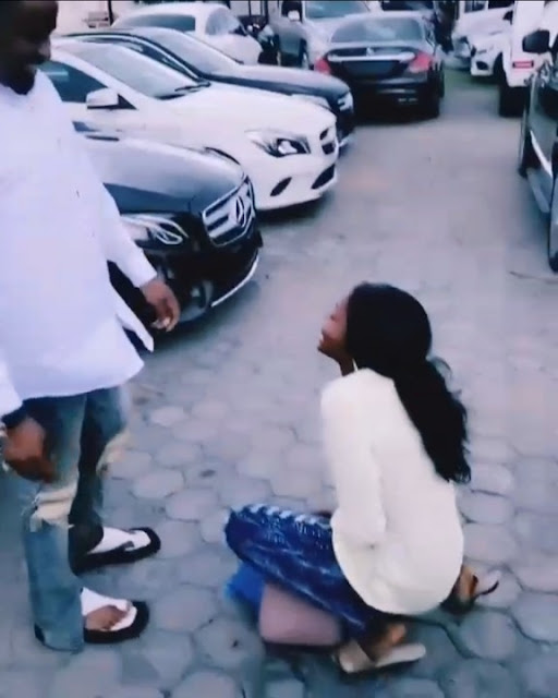 Fan Fainted after seeing Zubby Michael for the first time in her life (Video)