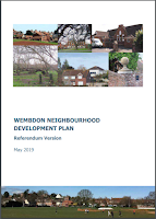 Cover of Wembdon Neighbourhood Plan