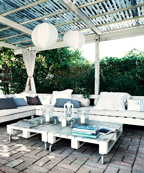 Get The Look A Chic Patio B A S Blog