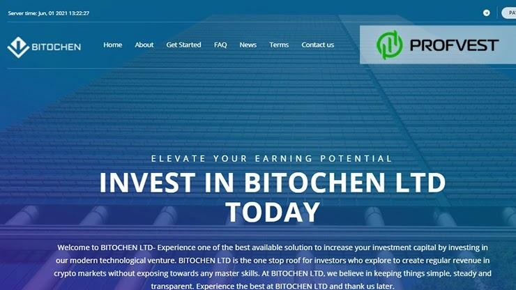 Bitochen обзор и отзывы HYIP-проекта