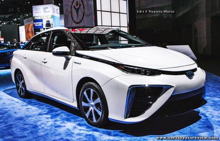 2017 Toyota Mirai Specs
