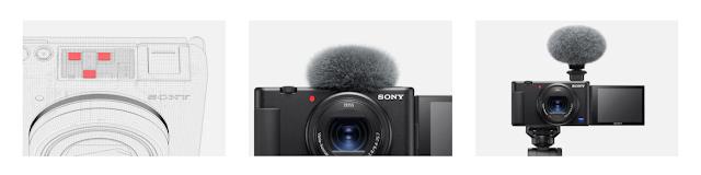 Sony ZV-1 Directional 3-capsule Mic
