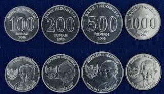 uang koin rupiah (idr) indonesia