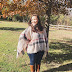 The Coziest Poncho For Fall!