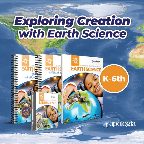Exploring Creation with Earth Science is a solid Earth Science Curriculum for the Christian Homeschooler.