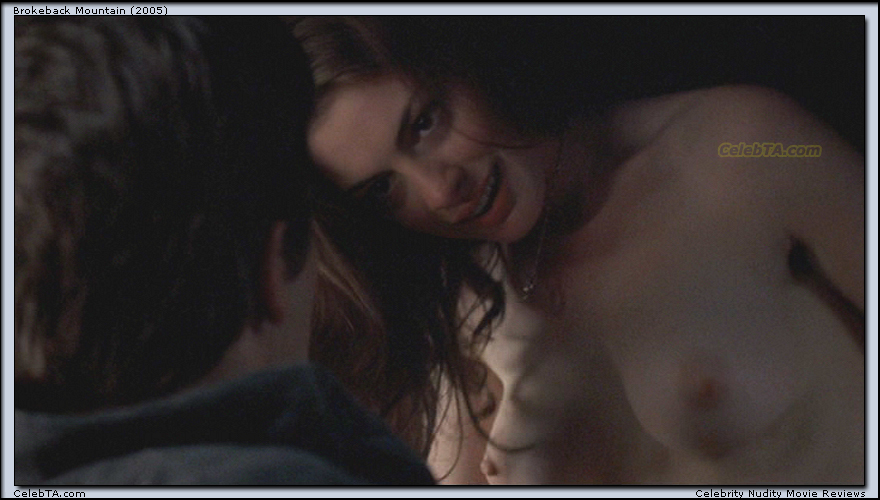 Anne hathaway nude boobs and butt in love and other movie 1