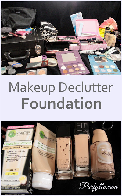 Makeup Declutter: Foundation