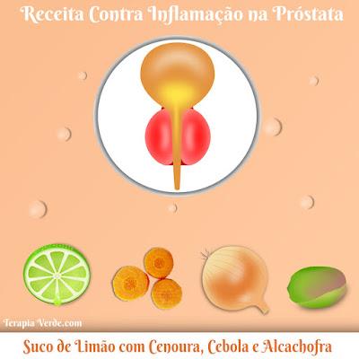 Receita Contra Inflamação na Próstata: Limão com Cenoura, Cebola e Alcachofra