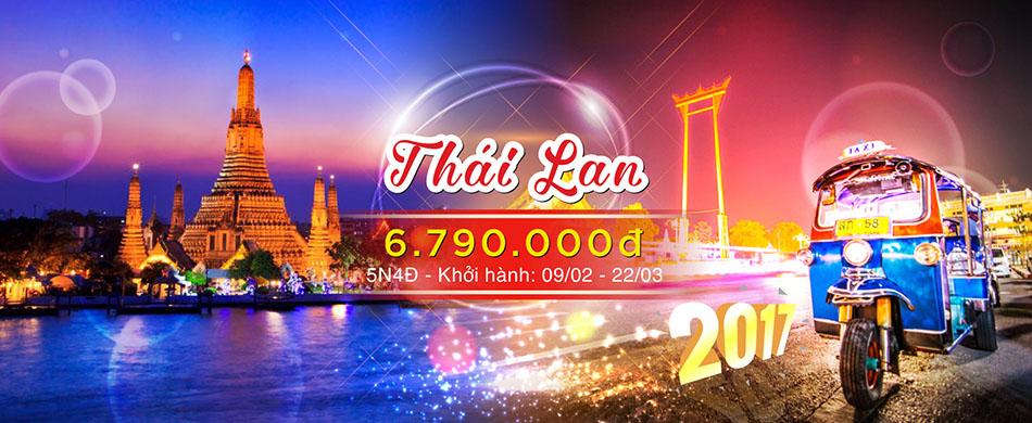 Tour du lịch và khám phá đất nước Thái Lan