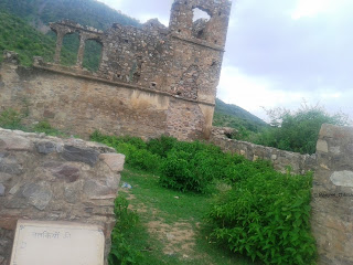 Dancer's Palace at Bhangarh Fort
