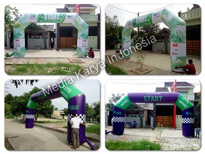Balon Gate, Balon Gapura, Balon Start Finish