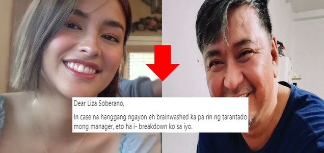 Open letter kay Liza Soberano hopes to get actress to abandon GABRIELA Youth following Jevellyn Cullamat's de@th