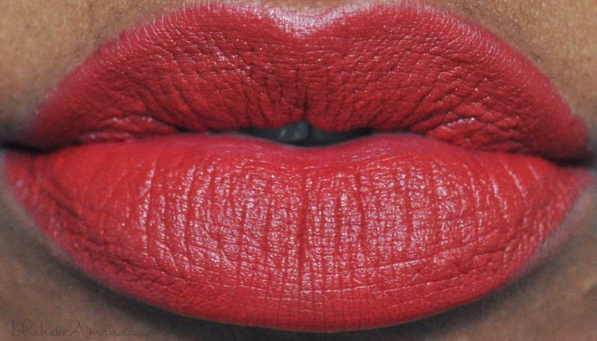 Swatched: NYX Matte Eden & Aria Matte Lipsticks