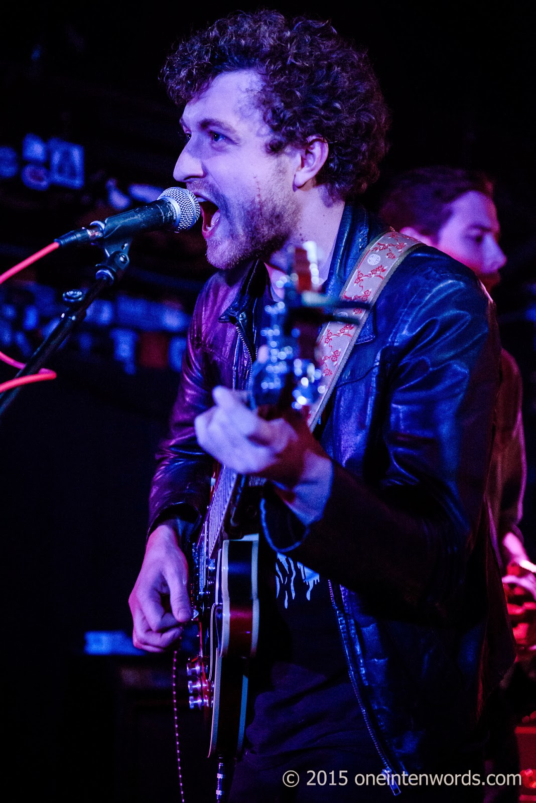Invasions at The Horseshoe Tavern January 31, 2015 Photo by John at One In Ten Words oneintenwords.com toronto indie alternative music blog concert photography pictures