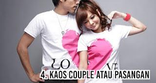 Kaos couple atau pasangan menjadi Hadiah Paling Berkesan Untuk Pacar Anda