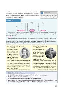 10. Sınıf Fizik Ders Kitabı Cevapları Berkay Yayınları Sayfa 21