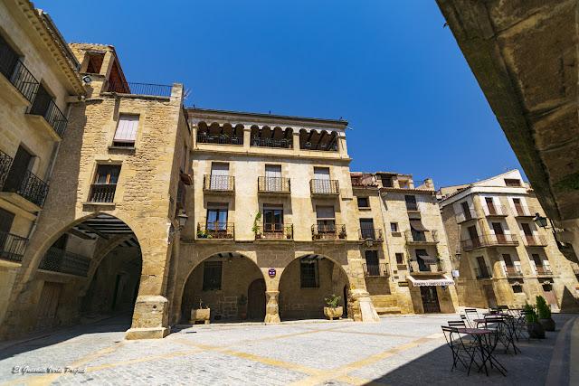 Plaza de España - Calaceite, Matarraña