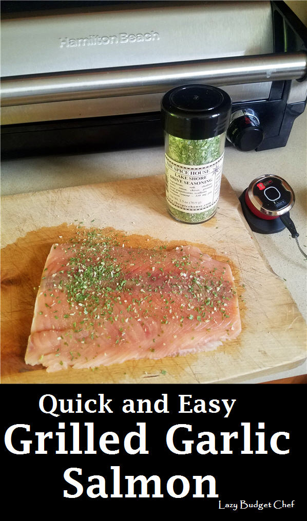 quick and easy grilled garlic salmon recipe