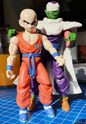 Krillin Piccolo Cape Version Bandai Dragon Ball Series 2 Collectible Articulated Figures