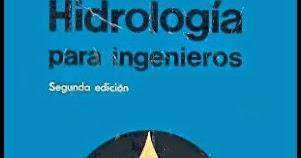 HIDROLOGIA PARA INGENIEROS EPUB