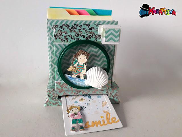 Mini Box Macchina Fotografica con Polaroid estraibile