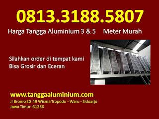 Harga tangga aluminium 3 5 meter murah