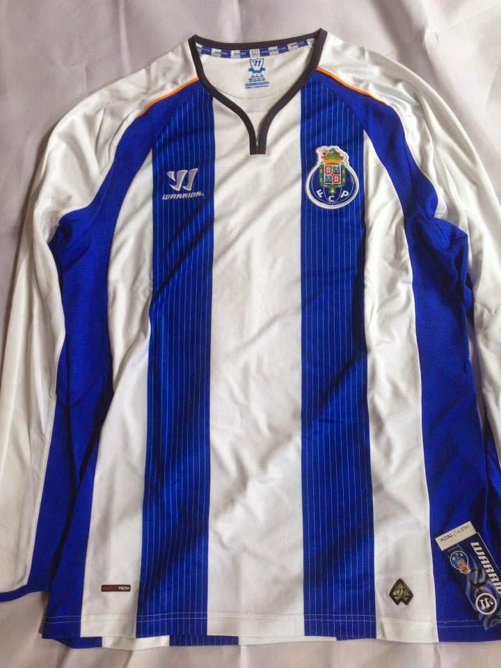 Vazou em redes sociais o novo uniforme principal do Porto 95c4aec872607
