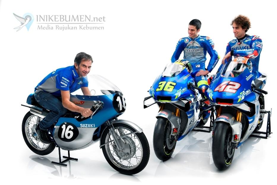 Tim Balap MotoGP Suzuki Musim 2020 Resmi Diluncurkan di Malaysia